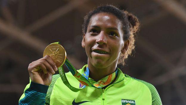 La medalla de oro que logró Rafaela Silva en judo femenino es la primera que gana Brasil en Río 2016.