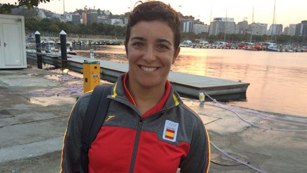 La regatista española Alicia Cebrián niega que el sexo sea un tema de conversación de su equipo en Río.