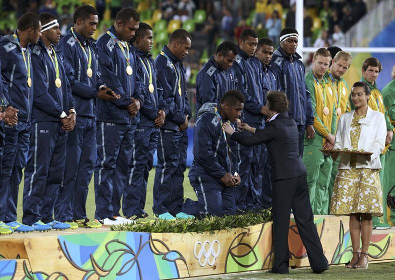 Fiyi logra la primera medalla olímpica de su historia con el oro en rugby seven