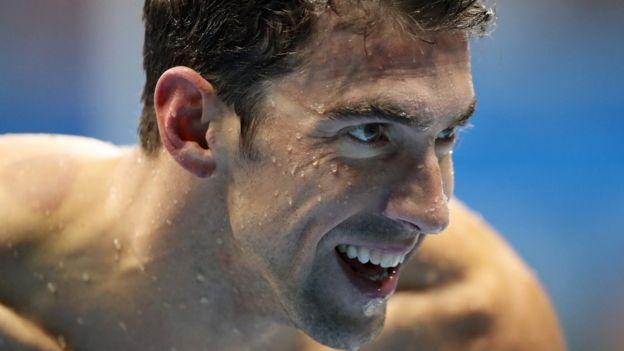 Michael Phelps es un hombre en paz consigo mismo