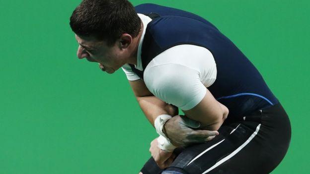 La escalofriante fractura de codo que terminó con el sueño olímpico del pesista Andranik Karapetyan