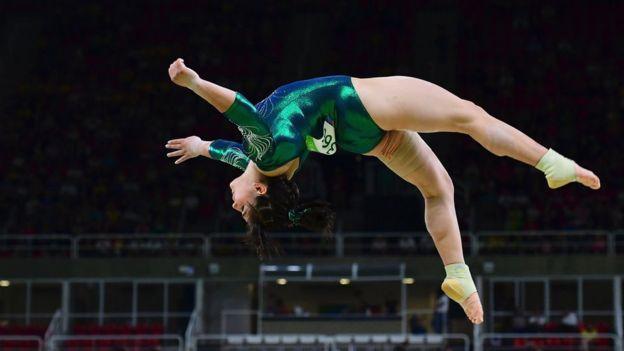 Alexa Moreno recibió una oleada de comentarios negativos sobre su peso tras participar en las Olimpiadas de Río.