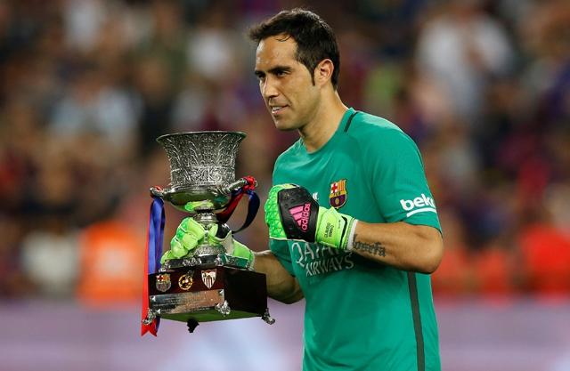 """""""No te vayas, por favor"""": director de diario español le pide a Bravo que no deje FC Barcelona"""