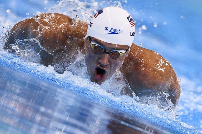 Ryan Lochte es una de las estrellas del team de natación de Estados Unidos.