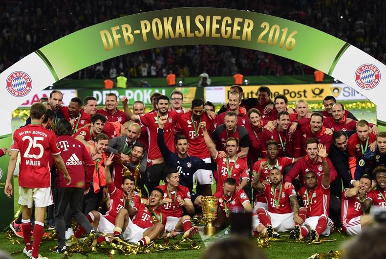 Bayern Munich de Vidal debuta en la Copa de Alemania ante FC Carl Zeiss Jena