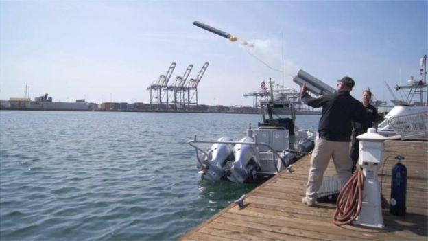 El Barracuda puede ser disparado desde un buque o desde la costa