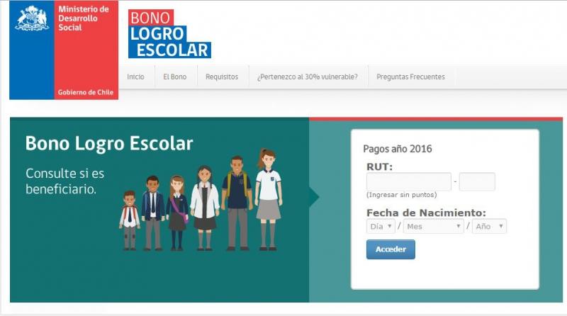 Bono Logro Escolar: 213 mil estudiantes son beneficiados en 2016