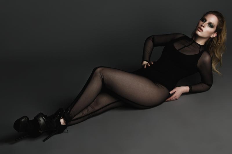 Bernardita Cruz, modelo.