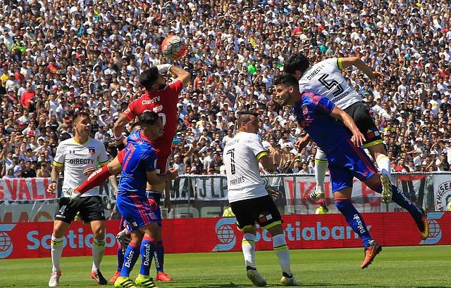 Resultado de imagen para colo colo 2 u de chile 0 2016 gol de martín rodríguez