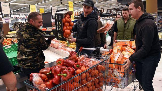 El mercado de los alimentos está concentrado en cada vez más pocas manos.
