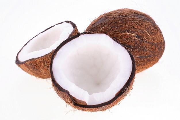 El aceite de coco está compuesto por 92% de grasa saturada.