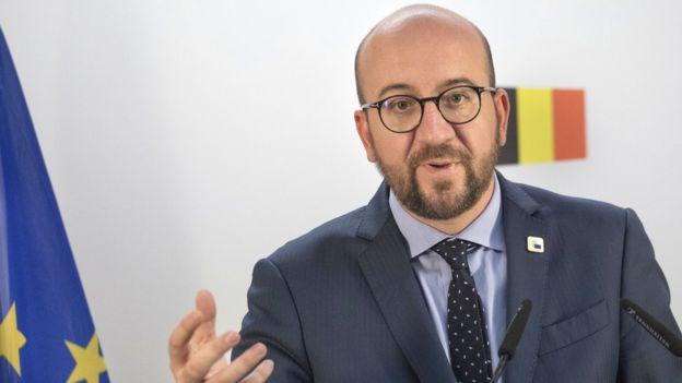 El primer ministro belga, Charles Michel, dijo que su país no puede firmar el acuerdo si no es ratificado por los gobiernos regionales.