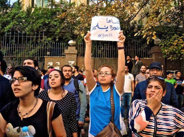 Ghadeer Ahmed no tiene miedo de hablar sobre los derechos de las mujeres.