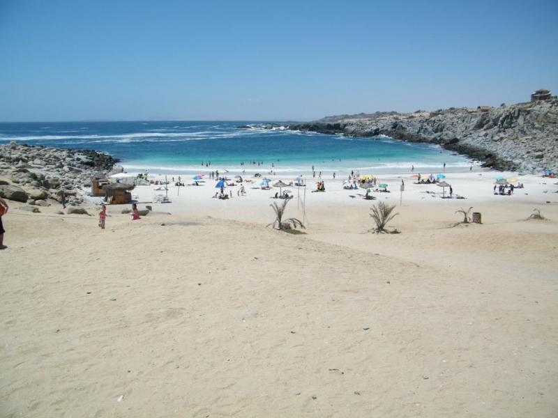 Playa Caldera.