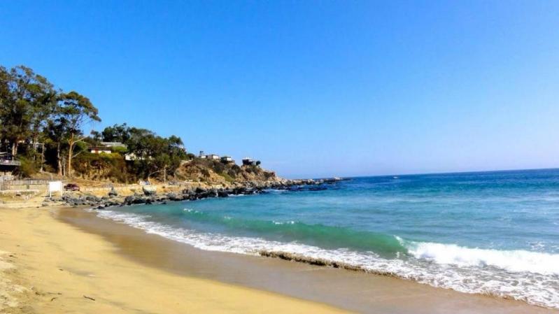 Playa Quintay.