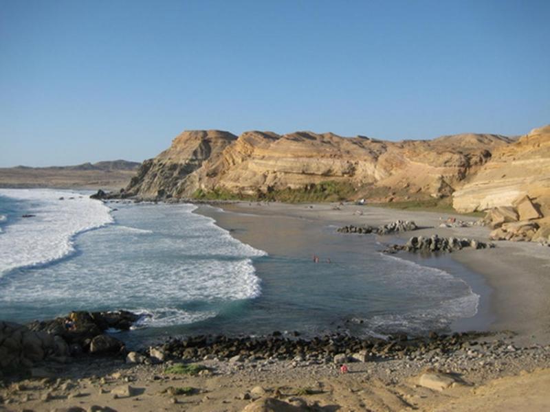 Playa Chorrillos.