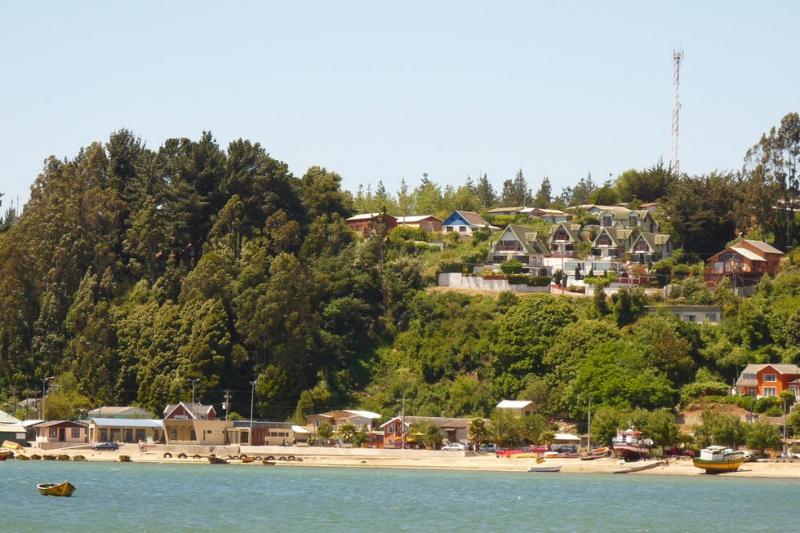 Playa Dichato.