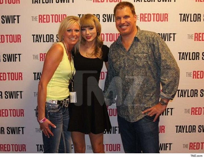 Esta es la foto que demostraría el acoso que sufrió Taylor Swift