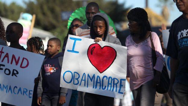 """El """"Obamacare"""" ha recibido críticas por parte de los conservadores estadounidenses."""