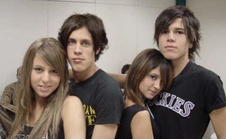 Nicole, Pablo, Bárbara y Tomás, los integrantes originales de Kudai