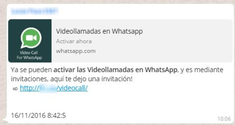 Se podrán visualizar los videos sin descargarlos — WhatsApp