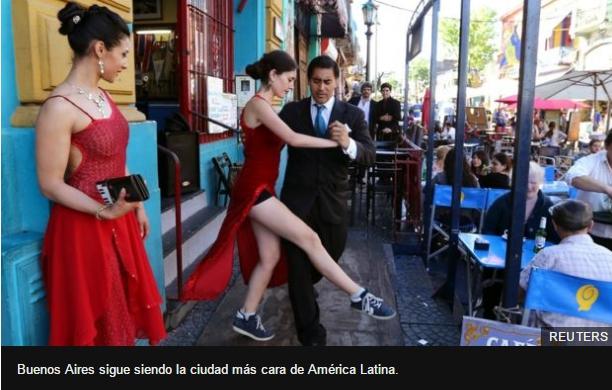 Buenos Aires sigue siendo la ciudad más cara de América Latina.