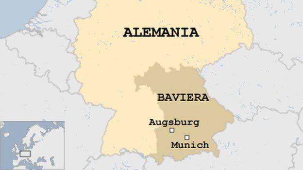 Desactivan bomba de la Segunda Guerra Mundial en Augsburgo