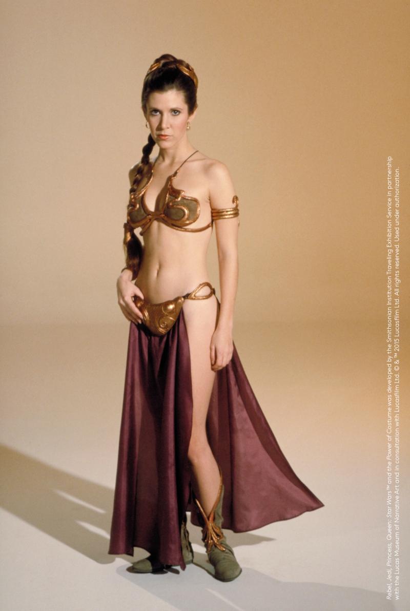 Conjunto de bikini princesa leia