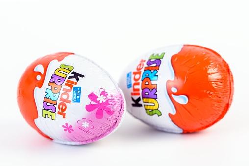 El huevo Kinder fue lanzado al mercado en los años 70 y desde entonces es un éxito en ventas.