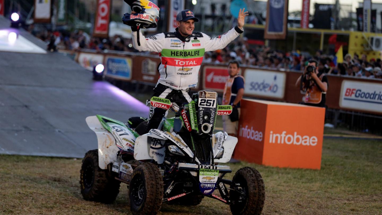 Ignacio Casale finaliza décimo en primera etapa del Dakar 2017 | Tele 13