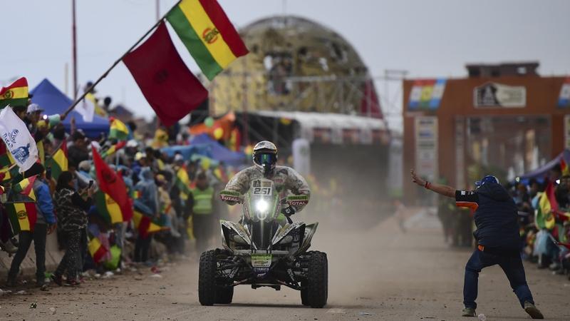 Dakar 2018: Nicolás Fuchs tuvo problemas de salud y descendió posiciones