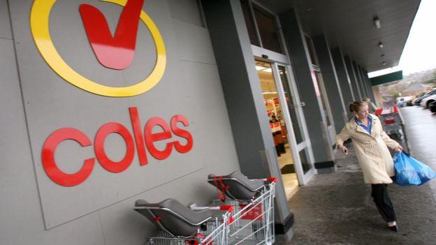 En 1997 la segunda cadena de supermercados en Australia, Coles, le hizo su primera compra.