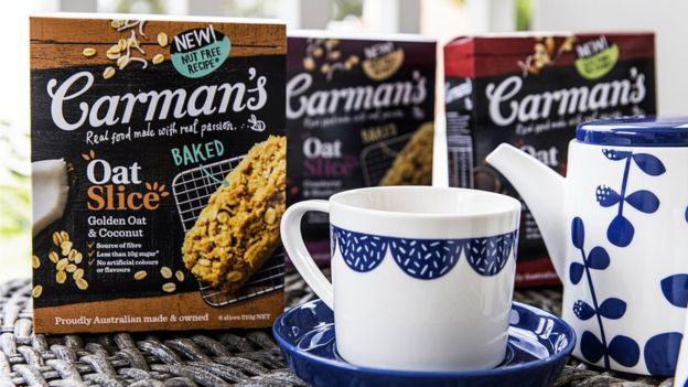 El negocio de Carman ha ido más allá del muesli.