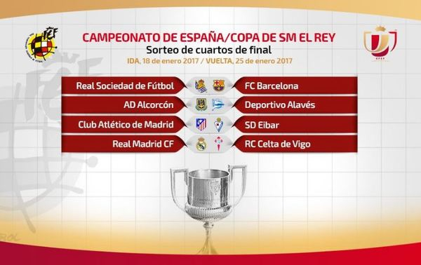 Celta de chilenos enfrentará al Real Madrid en Copa del Rey ...
