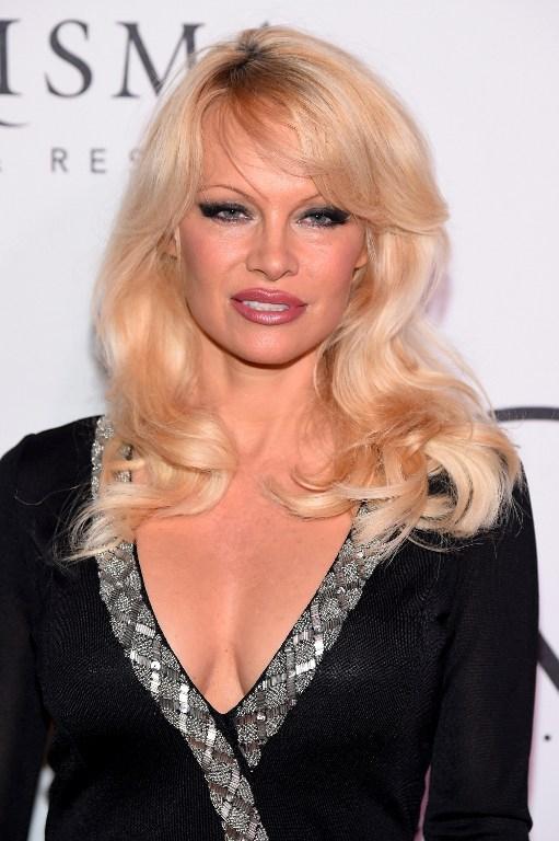 Pamela Anderson en una imagen de septiembre de 2016