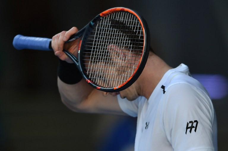 Andy Murray superó con solvencia la primera ronda en Australia