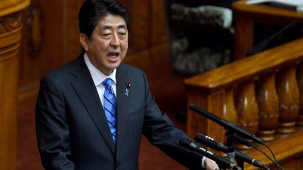 El primer ministro de Japón, Shinzo Abe, espera persuadir a Donald Trump sobre las virtudes del acuerdo.