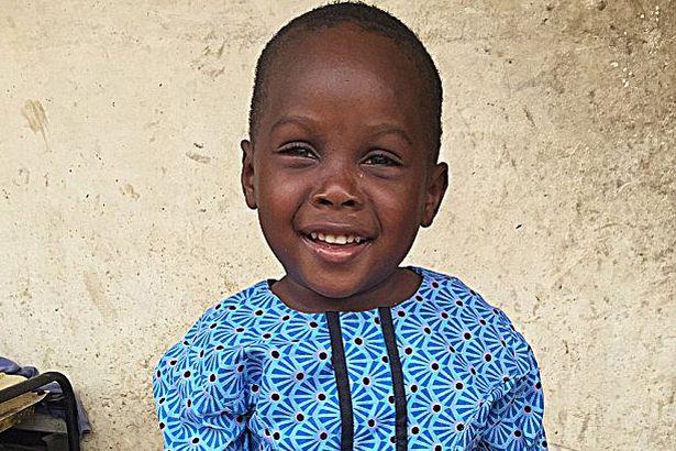 El pequeño Hope un año después de su rescate.