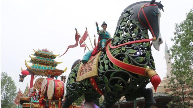 La industria china de turismo ha crecido mucho.