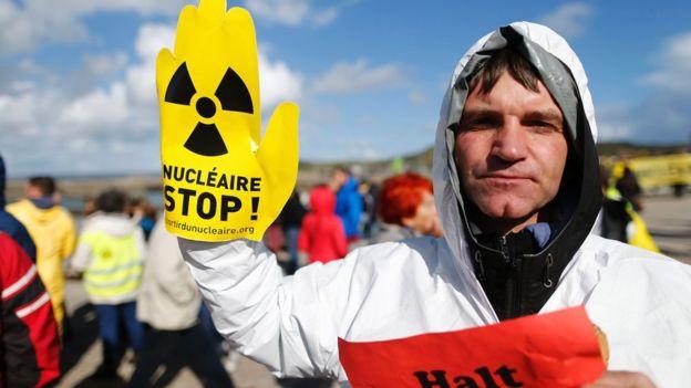 La industria nuclear afronta protestas en todo el mundo.