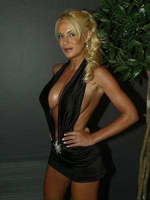 Luciana Salazar en la gala de Viña 2005
