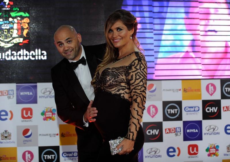Kenita Larraín en la gala de Viña 2016