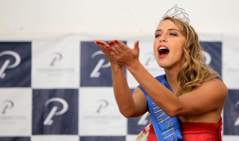 Valeria Ortega fue reina de Viña 2012