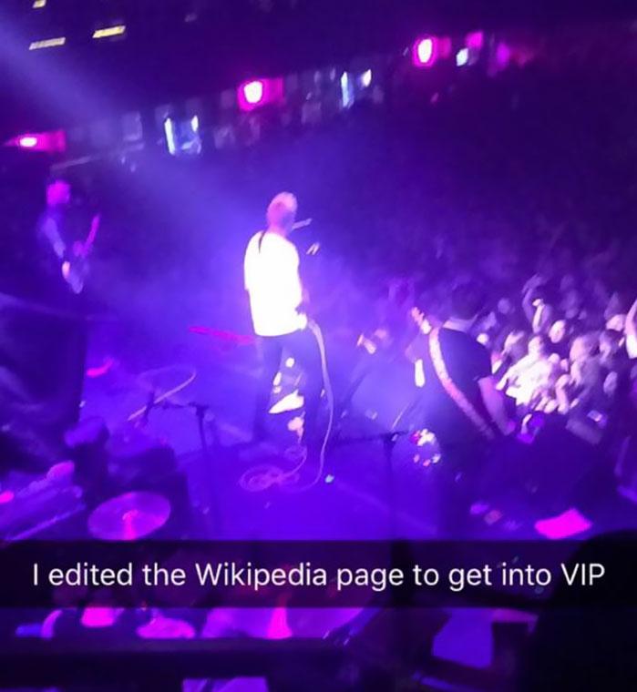 Vio a The Sherlocks en el VIP