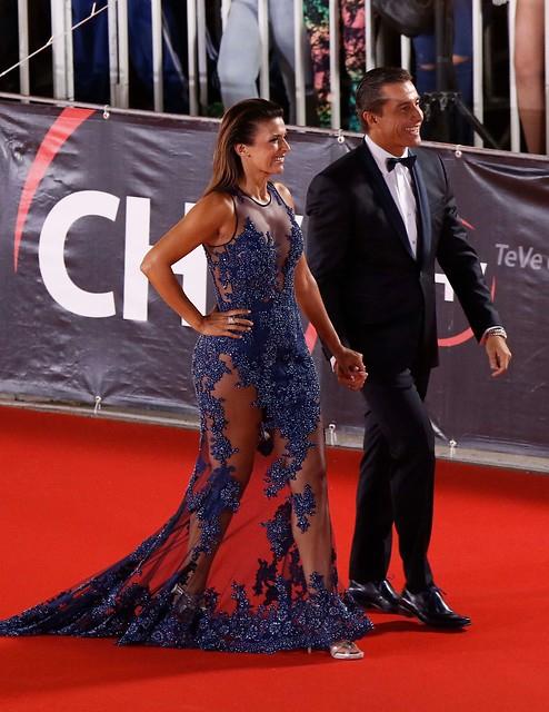 Ivette Vergara y Fernando Solabarrieta