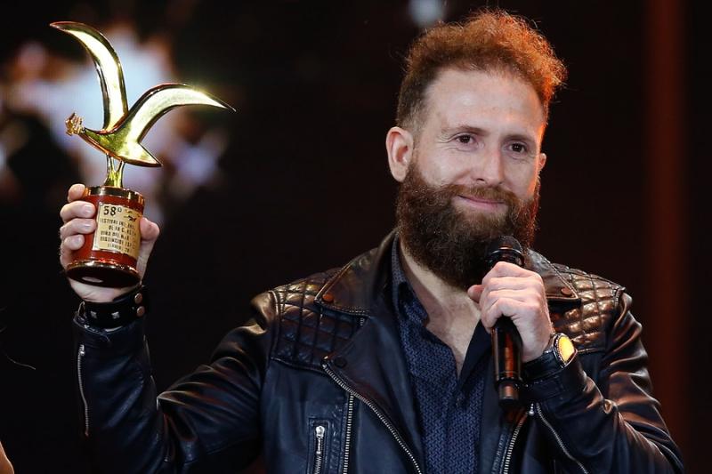El comediante se llevó los premios