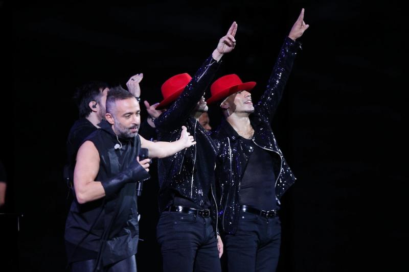 Los hermanos Power Peralta bailaron con Camila