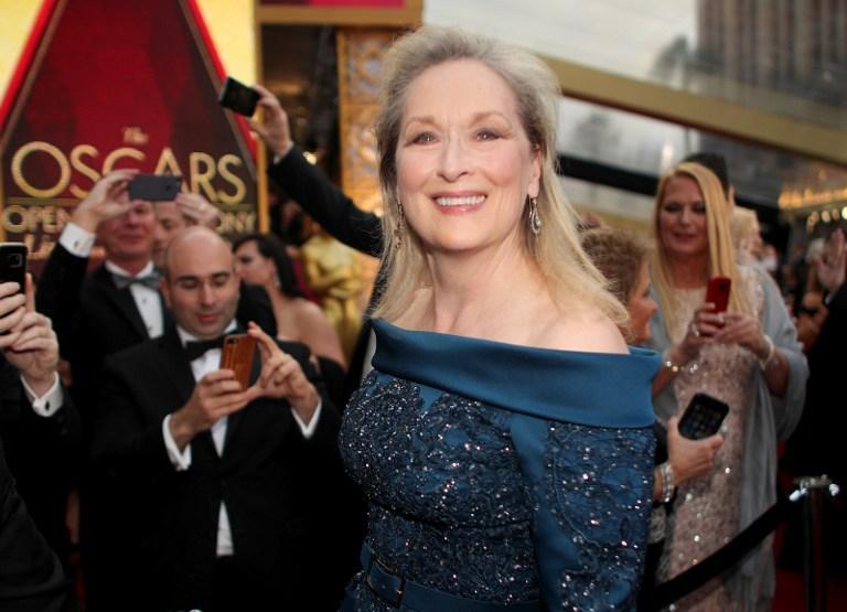 Meryl Streep en los Oscar 2017