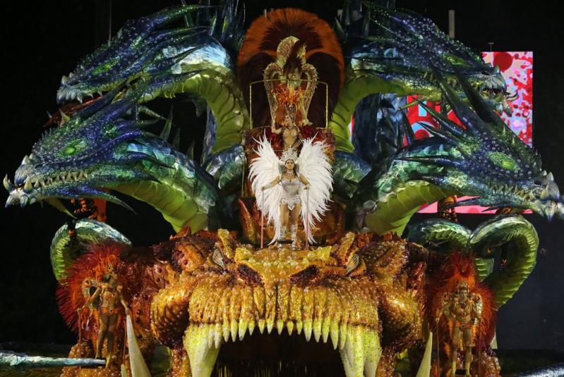 El Carnaval de Río es la fiesta de su tipo más grande del mundo.