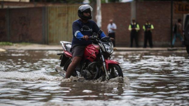 Los efectos de las precipitaciones se han dejado sentir con fuerza.